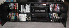 TV Stand Open