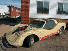 Fowler Pest Control, Fowler IN. Thanks to Flickr-ite dave_7 for the ID - it's a Bradley GT kit car!