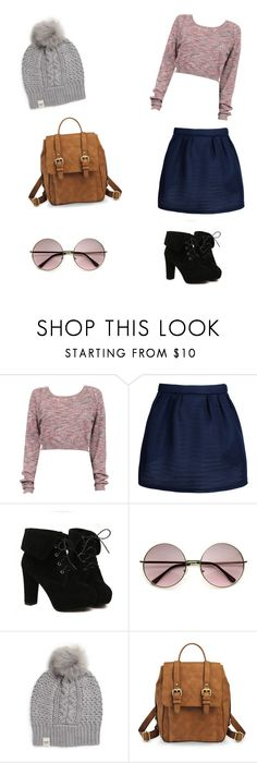 """""""ootd"""" by fauzanadiah ❤ liked on Polyvore featuring Maison Kitsuné, TURNOVER, UGG Australia, Merona, women's clothing, women, female, woman, misses and juniors"""