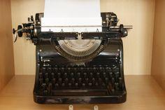 Meine Schreibmaschine