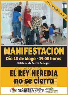 HORNACHUELOS: MANIFESTACION 10 MAYO SÁBADO  7 TARDE PUERTA GALLE...