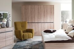 Spálňa Decodom: MODESTO prevedenie: San Remo Sand - San Remo Sand    [Bedroom: MODESTO colours: San Remo Sand - San Remo Sand]