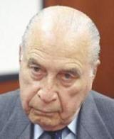 FRANCISCO MORALES  DICTADOR PERUANO ASOCIADO AL PLAN CONDOR. RECLAMADO EN ARGENTINA POR SECUESTRO DE OPOSITORES. VIVE EN PERÚ