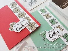 Virtual Card, Coffee Cards, Stampin Up Catalog, Card Making Techniques, Pretty Cards, Funny Cards, Cool Cards, Kids Cards, Chocolate Cocktails