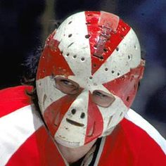 Doug Favell's Halloween Pumpkin Mask - The First Painted Mask in NHL History Cool Masks, Best Masks, Hockey Goalie, Ice Hockey, Nhl, History Of Hockey, Hockey Rules, Pumpkin Mask, Goalie Mask