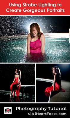 Using Strobe Lighting to Create Gorgeous Portraits Photography Lighting Techniques, Improve Photography, Face Photography, Photography Editing, Light Photography, Photography Tutorials, Strobing, Photo Tutorial, Photo Tips