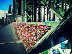 Hohenzollernbrücke Köln #Köln #Cologne