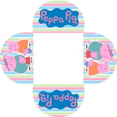 Peppa Pig: Free Printable Invitations and Party Printables. | Oh My Fiesta! in english