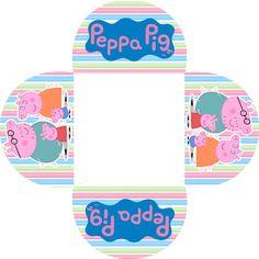 Peppa Pig Jugando: Imprimibles e Invitaciones para Imprimir Gratis.