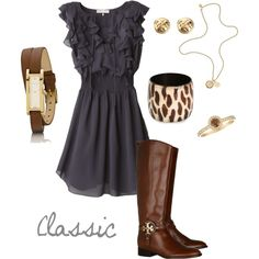 Love this whole outfit.... I can't wait to get working out and get into shape for fun dresses like these!