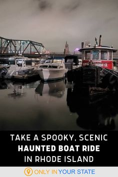 Sail along the Providence River in Rhode Island this summer on a haunted boat tour. Learn local history along with spooky stories about ghostly residents. | Unique Tours | Day Trip Ideas | Older Kids And Families | Things To Do | Paranormal | Ghost Tours Cobblestone Walkway, Places To Travel, Places To Visit, Boat Companies, Spooky Stories, Ghost Tour, Hidden Beach, Travel Items, Boat Tours