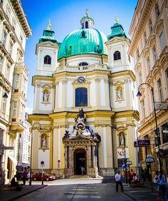 Vienna, Austria..beautiful Baroque design building.
