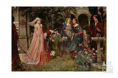 The Enchanted Garden, c.1916-17 Giclee Print by John William Waterhouse