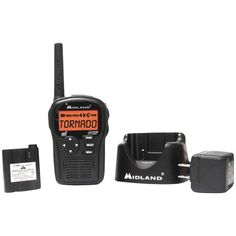 SAME All-Hazard Handheld Weather Alert Radio (Includes Drop-In Desktop Charger & Battery) - MIDLAND - HH54VP2