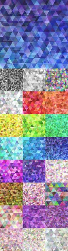 Triangle Background, Vector Background, Background Patterns, Geometric Graphic, Graphic Design, Color Patterns, Geometric Patterns, Mosaic Designs, Design Bundles
