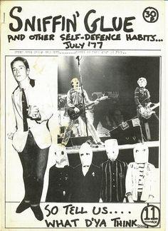 Sniffin' Glue, UK punk fanzine, July '77