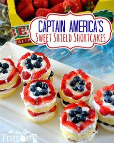Various patriotic dessert recipes
