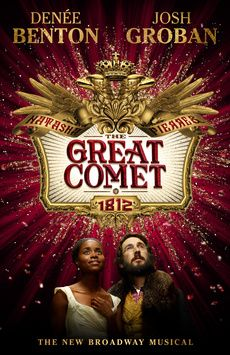 Natasha, Pierre and the Great Comet of 1812, Imperial Theatre, NYC Show Poster
