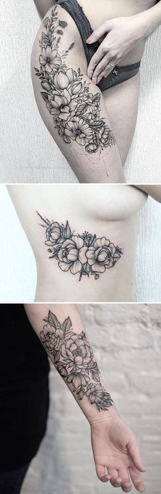 tattoo An artist who immortalizes the delicate beauty of flowers. | Angkor Amazing