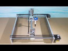 Homemade Mini Laser Engraving Cutter Printer Plotter Robotic Draw DIY A...