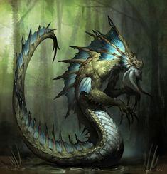 Criatura reptiliana