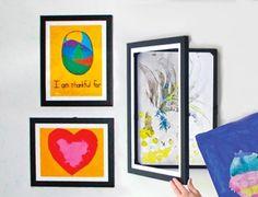 Buy or DIY: Easy Ways to Display & Store Kids' Artwork