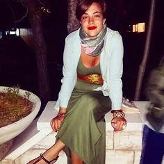 Special Night.  My wonderful dress Tezenis style