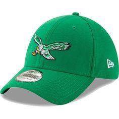 the best attitude bdf35 63ced Men s Philadelphia Eagles New Era Kelly Green Team Classic Throwback  39THIRTY Flex Hat, Your Price
