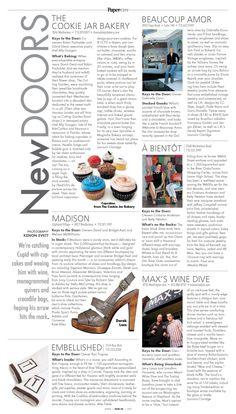 Upscale Magazine Layout/Design