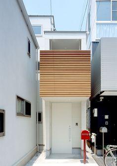 CASE 208 | 狭小地を利用した家(東京都世田谷区) |ローコスト・低価格住宅|狭小住宅・コンパクトハウス | 注文住宅なら建築設計事務所 フリーダムアーキテクツデザイン