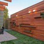 Modele de garduri frumoase din lemn pentru curti moderne si rustice :: CasaDex – case, constructii, amenajari, decoratiuni