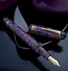 World Class Luxury Gifts: High End & Personalized Conway Stewart, Purple Pen, Goulet Pens, Stationery Pens, Writing Instruments, Pen Holders, Luxury Gifts, Fountain Pen, Personalized Gifts