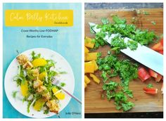 The Calm Belly Kitchen Cookbook, by Julie O'Hara , has over 50 Low FODMAP recipes for IBS and digestive health. Read my review and try one of the recipes at my blog, The Spicy RD