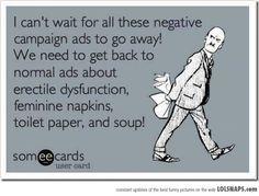 Political advertising...
