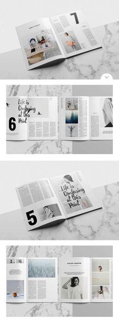 Simple layout ideas #simple #minimal