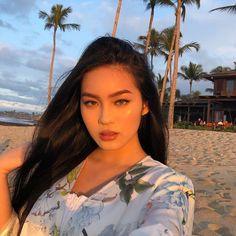Asian Makeup, Korean Makeup, Jessica Vu, Instagram Pose, Tan Skin, Interesting Faces, Face Claims, Girl Face, Ulzzang Girl