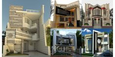 We usually love when someone makes a top of something. In this case, we wondered which are the most beautiful modern homes that are built. We searched and Indian House Exterior Design, House Main Gates Design, Modern Exterior House Designs, Bungalow House Design, House Front Design, Dream House Exterior, Best Small House Designs, Narrow House Designs, Modern Small House Design