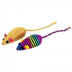Kole KL18878 Striped Mice Cat Toys Set44; Assorted -- You can get additional details at the image link. (This is an affiliate link and I receive a commission for the sales) #Pets