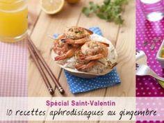 10 recettes aphrodisiaques au gingembre pour la Saint-Valentin • Hellocoton.fr