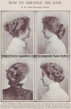 Edwardian Hairdos