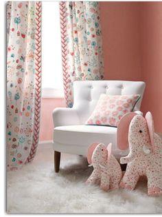 Designe sofisticado para quarto de criança.