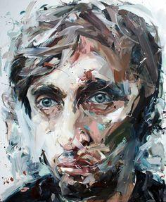 Nick Lepard painting