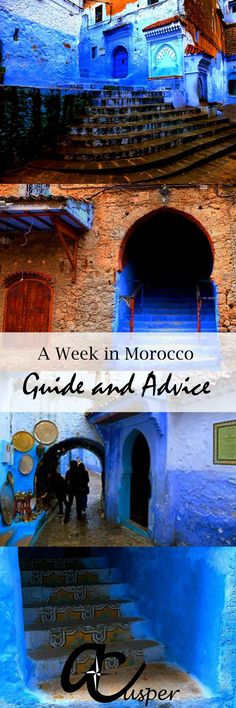Chefchaouen, blue city in Morocco