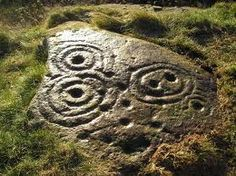 Cup and Ring marks, Angus Scotland