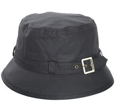 dcf235f1d8d Women s Barbour Kelso Wax Belted Hat is a waxed Cotton bucket hat with  outer belt hat · Barbour HatsBarbour ...