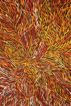 art Kinda trippy, but gorgeous, vibrant color and detail! Aboriginal art from artist Jeannie Petyarre (Pitjara)Kinda trippy, but gorgeous, vibrant color and detail! Aboriginal art from artist Jeannie Petyarre (Pitjara) Aboriginal Painting, Aboriginal Artists, Dot Painting, Encaustic Painting, Indigenous Australian Art, Indigenous Art, Aboriginal Art Australian, Arte Tribal, Tribal Art