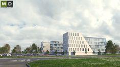 Komplex kancelářských budov. #MasterDesign Multi Story Building, Louvre, Travel, Design, Viajes, Destinations, Traveling, Trips