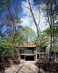 Villa-K in Nagano by Cell Space Architects