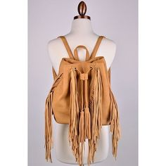 """🌞Hang Tight Fringe Backpack - Brown Approx measurements:🌞 L: 12""""🌞 W: 6"""" (when opened)🌞 H: 11""""🌞 Feel free to ask me any questions🌞 Thanks for browsing my closet!🌞 Happy Poshing🌞 Bags Backpacks"""