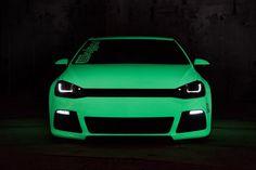 Glow-in-the-dark Weird Cars